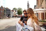 Button to see details and booking options for Discovery of Bruges Tour